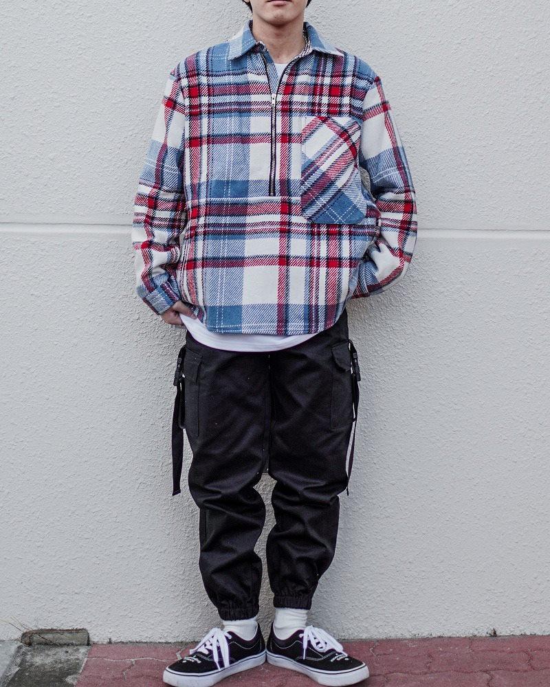 サイドベルトブラックカーゴジョガーパンツ(小さいサイズ)の画像9